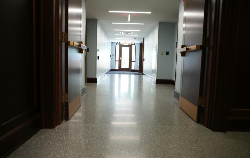 terrazzo flooring John C. Calhoun Building