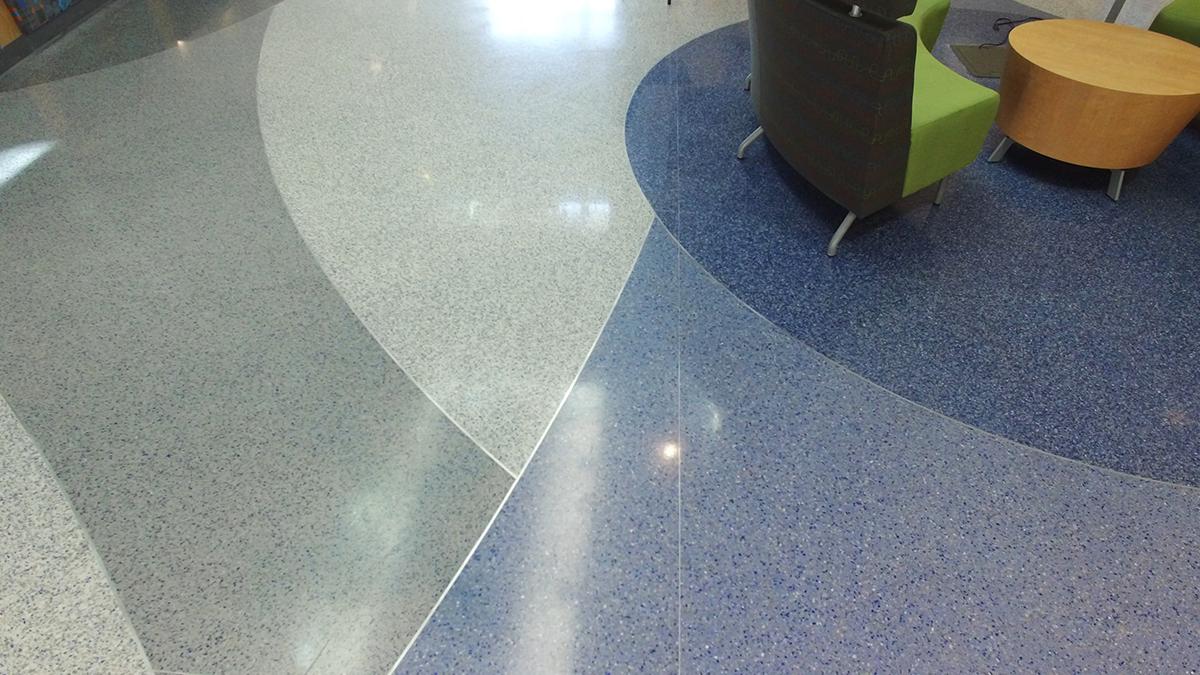 Johnson C Smith Epoxy Terrazzo Flooring