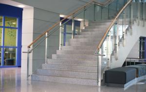 Terrazzo Stair Installation - Mississippi