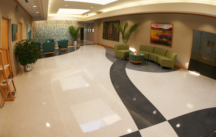 MUSC Wellness Center Terrazzo Flooring