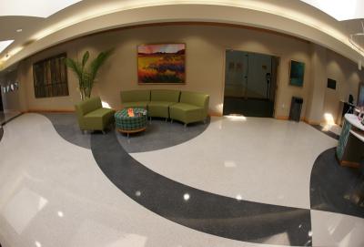 MUSC Wellness Center Terrazzo Flooring Installation