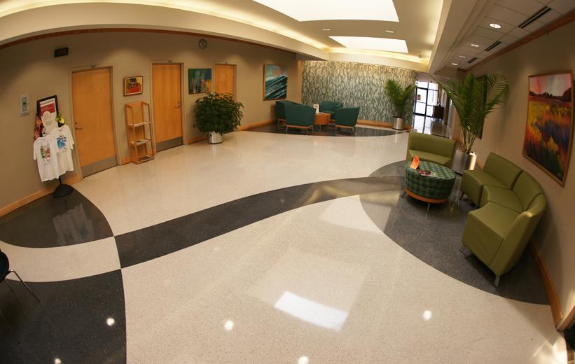 Terrazzo Hospital Flooring