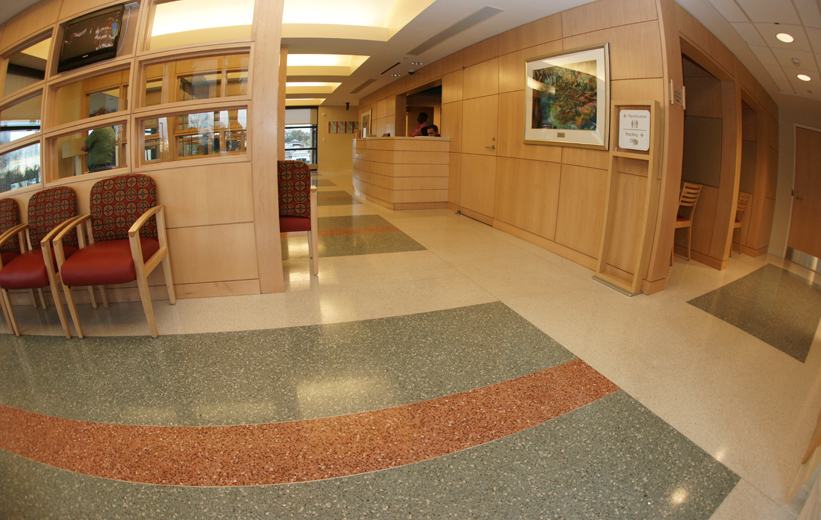 McLeod Regional Medical Center Terrazzo Hospital Flooring