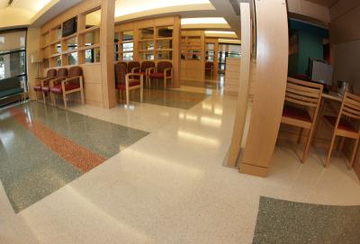 McLeod Medical Center Terrazzo Flooring Installation