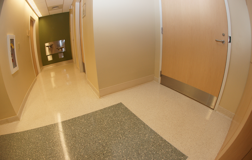 McLeod Medical Center Terrazzo Floor