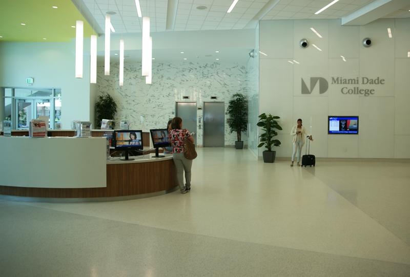 Miami Dade College Terrazzo Flooring