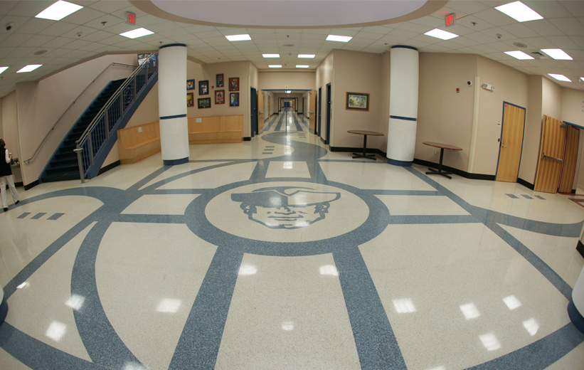 Interacting Design: Moultrie Middle School Terrazzo Installation