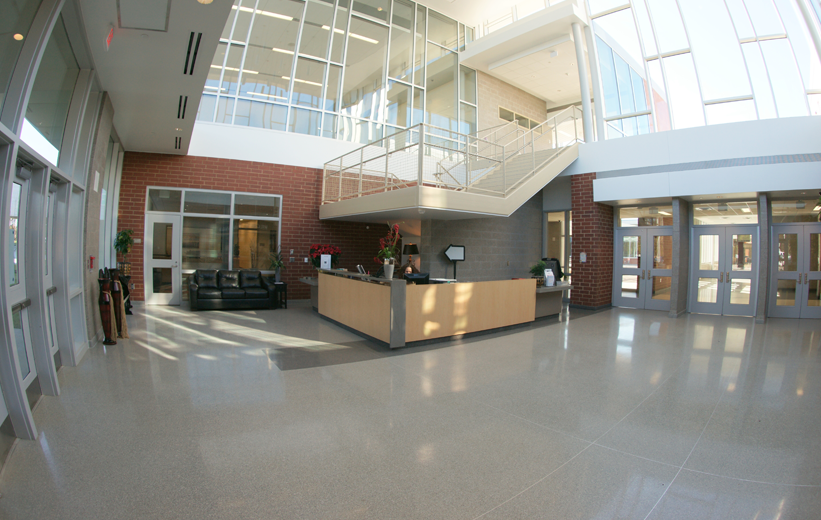 Muller Road Middle School with Terrazzo Flooring