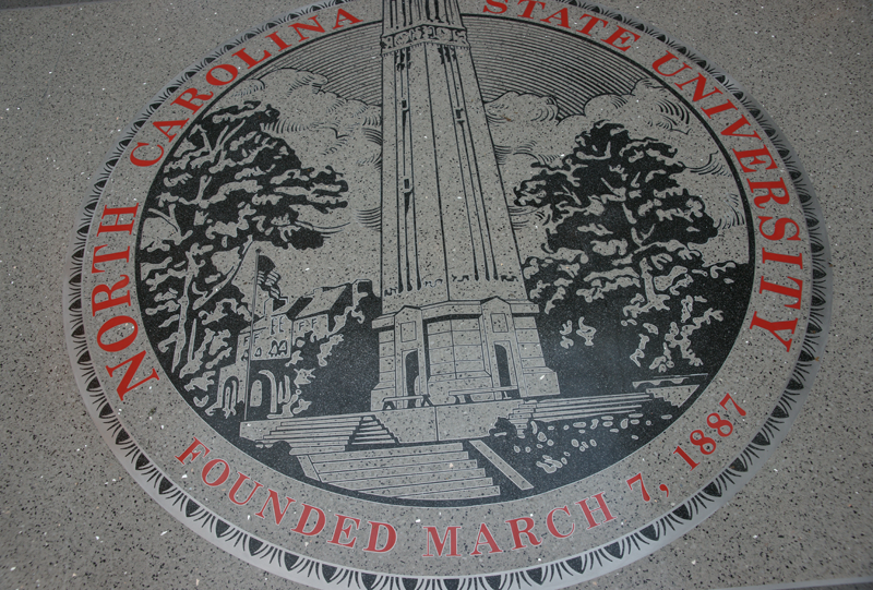 North Carolina State University Terrazzo Flooring Seal