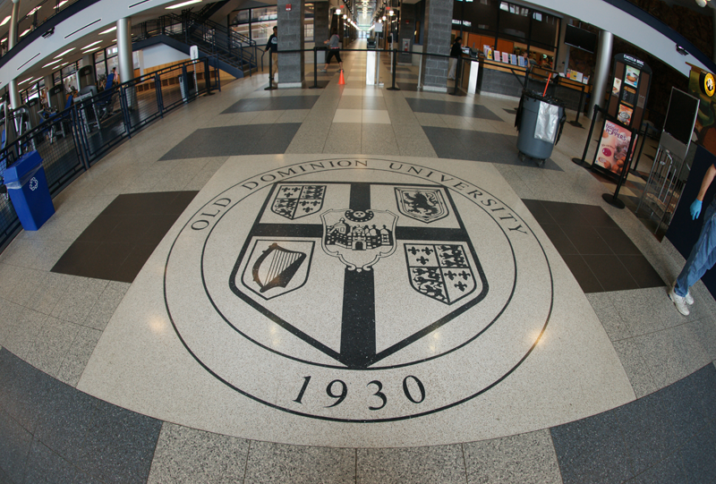 Old Dominion University Terrazzo Tile Flooring Installation