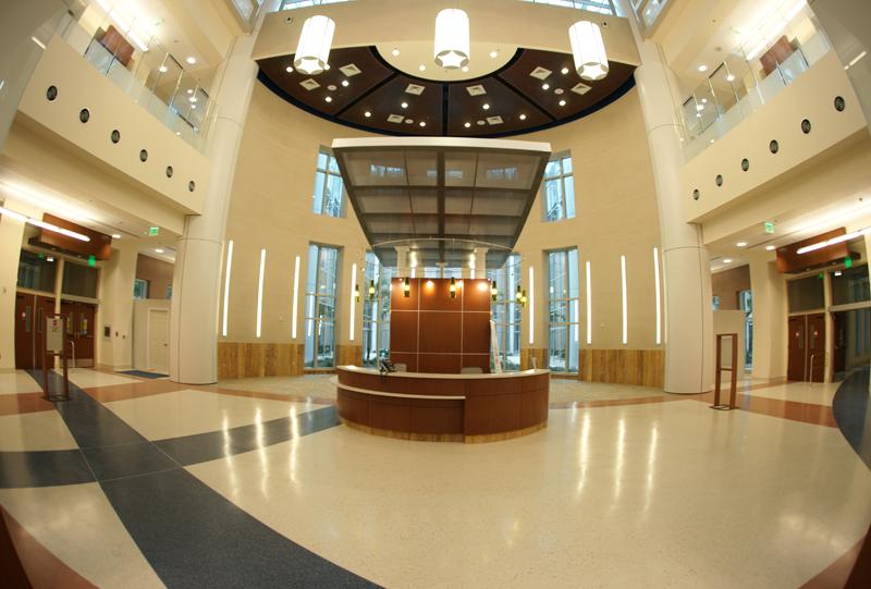 Orlando Veterans Affair Medical Center Epoxy Terrazzo Installation