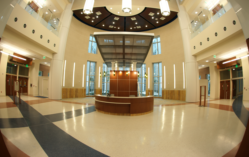 Orlando Veterans Affair Medical Center with terrazzo flooring
