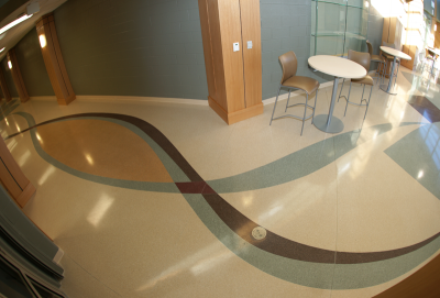 Pelion High School Terrazzo Flooring in South Carolina