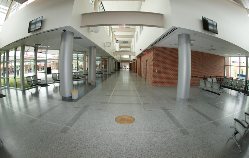 Petersburg Multi-Model Transit Center Terrazzo Installation