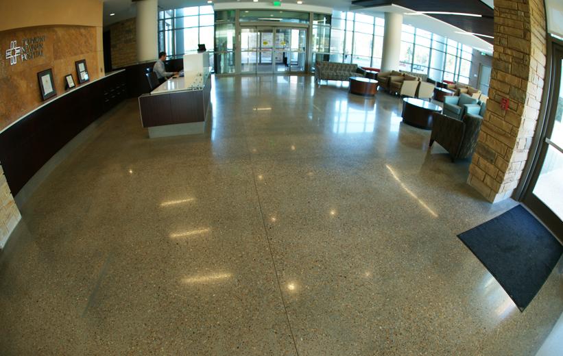 Piedmont Newnan Hospital: Restoring Terrazzo Floors