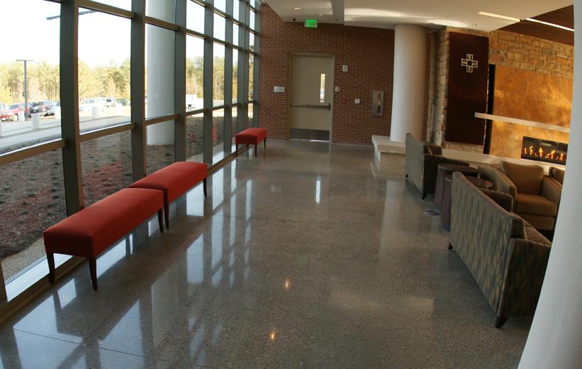 Piedmont Newnan Hospital Terrazzo Flooring