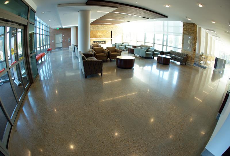 Piedmont Newnan Hospital Terrazzo Flooring Installation