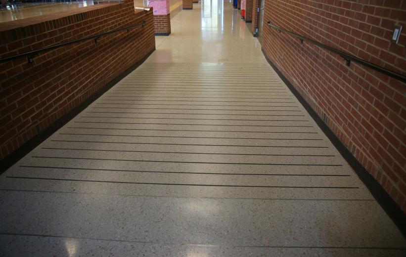 Precast Terrazzo Stairway