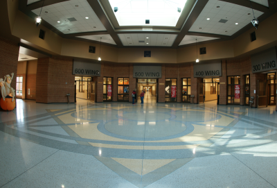 Richmond Hill Middle School Terrazzo Flooring in Georgia