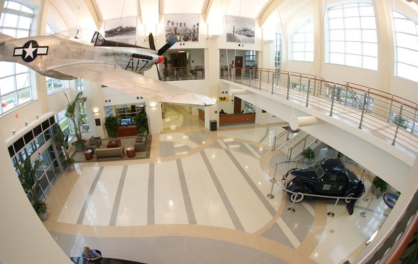 Airport terminal design with epoxy terrazzo | Doyle Dickerson Terrazzo