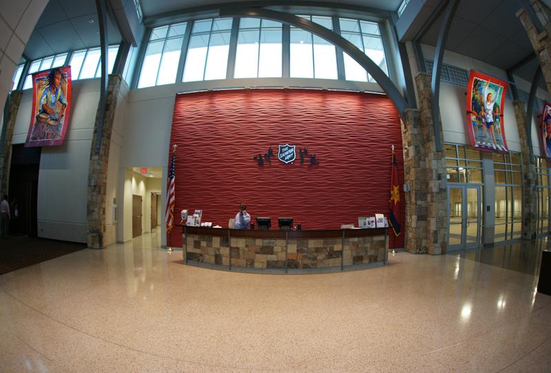 Salvation Army Community Center Terrazzo Flooring
