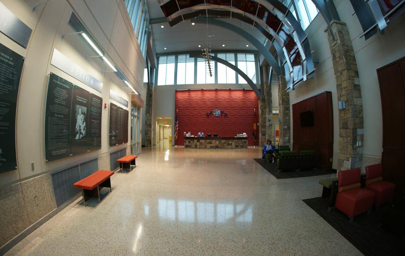 Salvation Army Community Center Terrazzo Floors