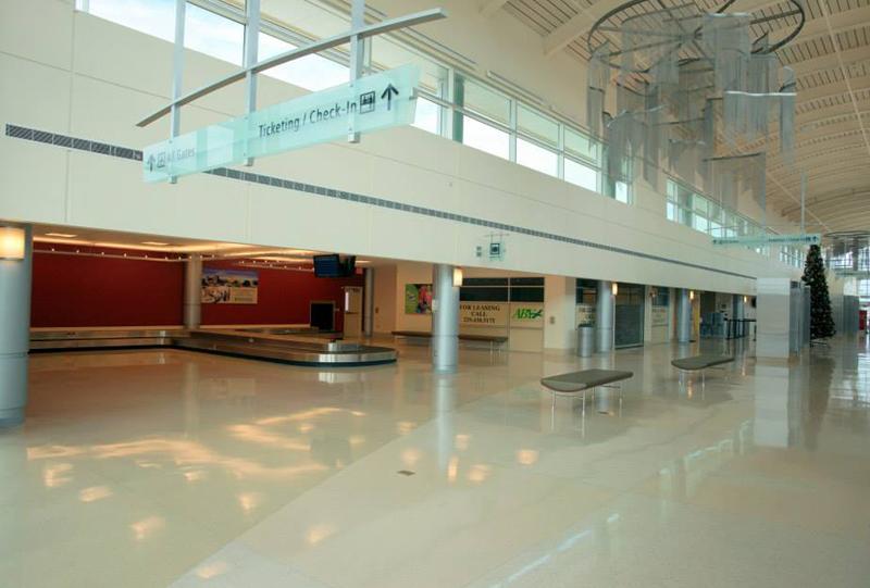 Southwest Georgia Regional Airport Terrazzo