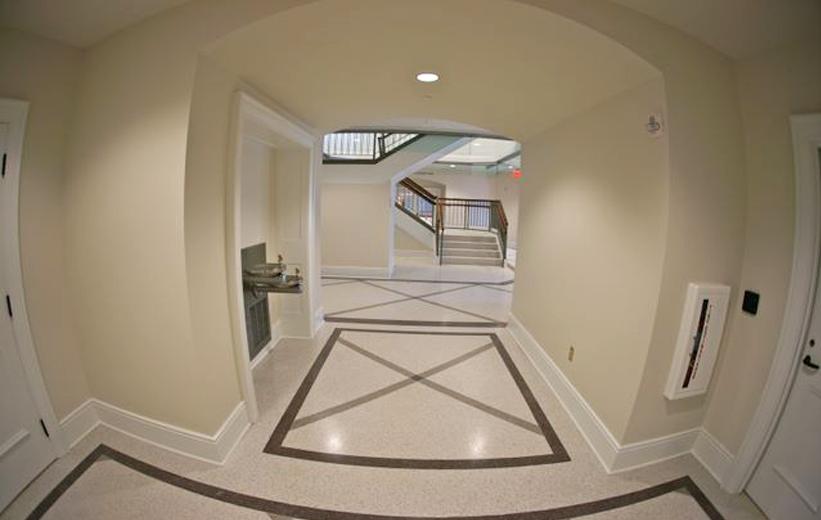 Spotsylvania County Courthouse Terrazzo Floor