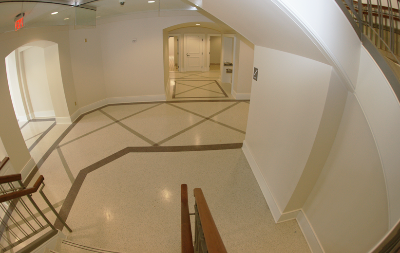 Terrazzo Geometric Floor Design
