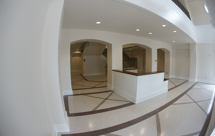 Terrazzo in Lobby Area of Spotsylvania County Courthouse