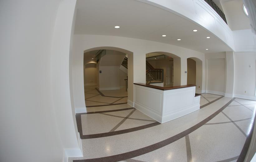 Terrazzo in Lobby Area of Spotsylvania County Courthouse