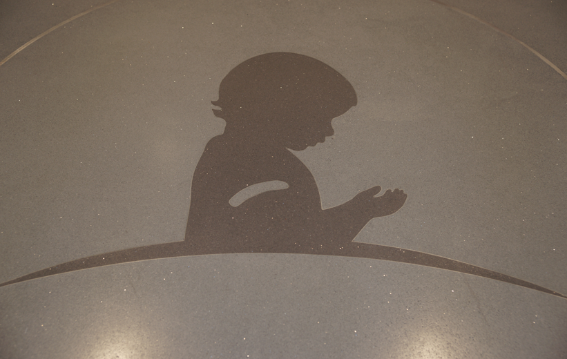 St. Jude Children's Research Hospital Terrazzo logo