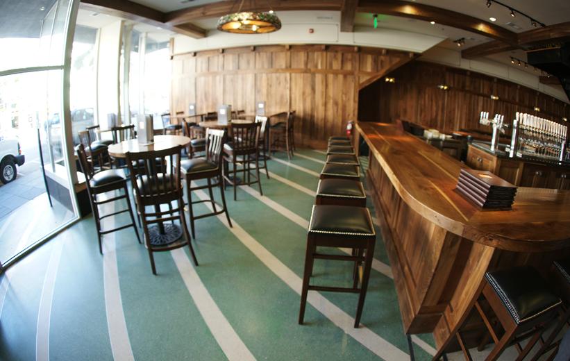 Green Epoxy Terrazzo Flooring Installation at Star on Kings Restaurant