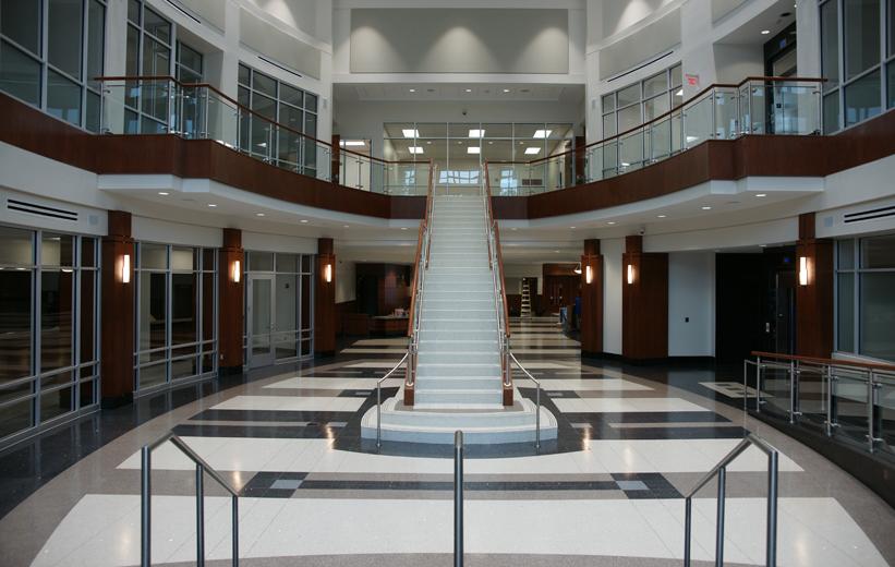 Suffolk Municipal Center Terrazzo Flooring