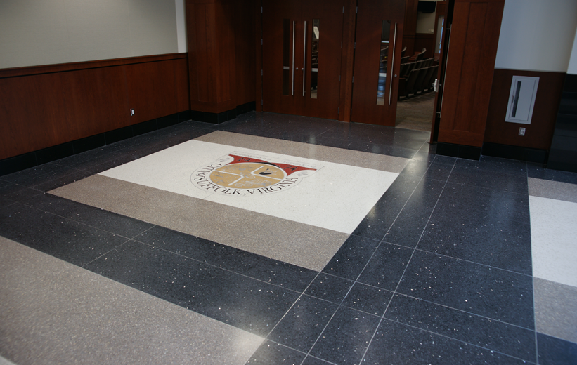 Suffolk Municipal Center Terrazzo Flooring