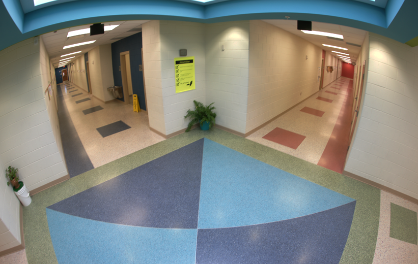 Terrazzo School Design T. Harry Garrett Elementary