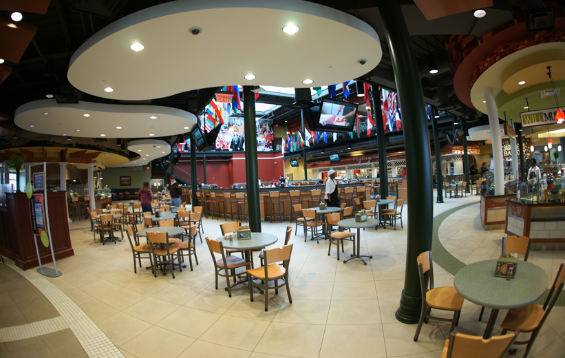 Troy University Dining Hall in Alabama