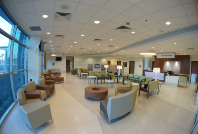 UF Health North Terrazzo Flooring Installation