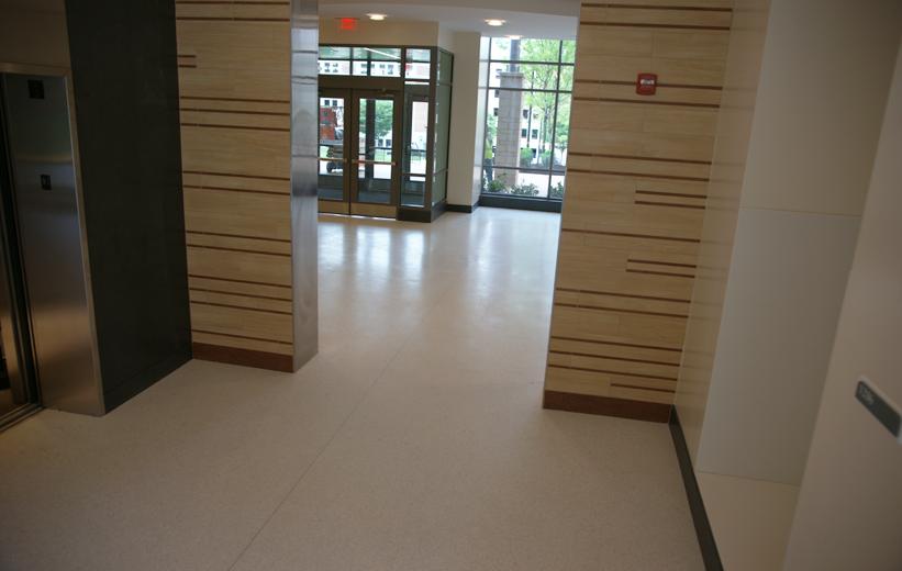 White Epoxy Floors installed at the University of Maryland