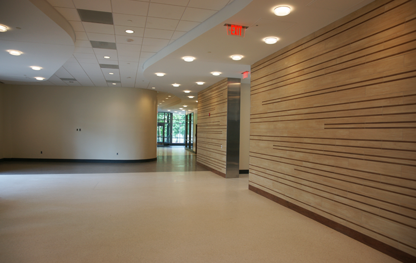 Interior Design with terrazzo flooring at University of Maryland