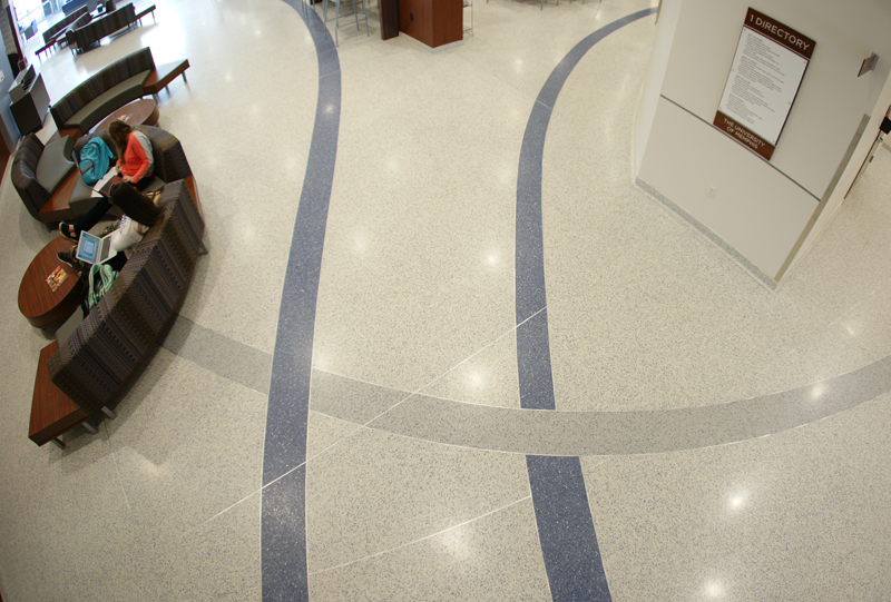 University of Memphis Terrazzo Flooring Installation