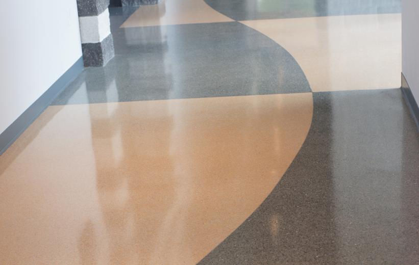 seamless terrazzo flooring | Doyle Dickerson Terrazzo