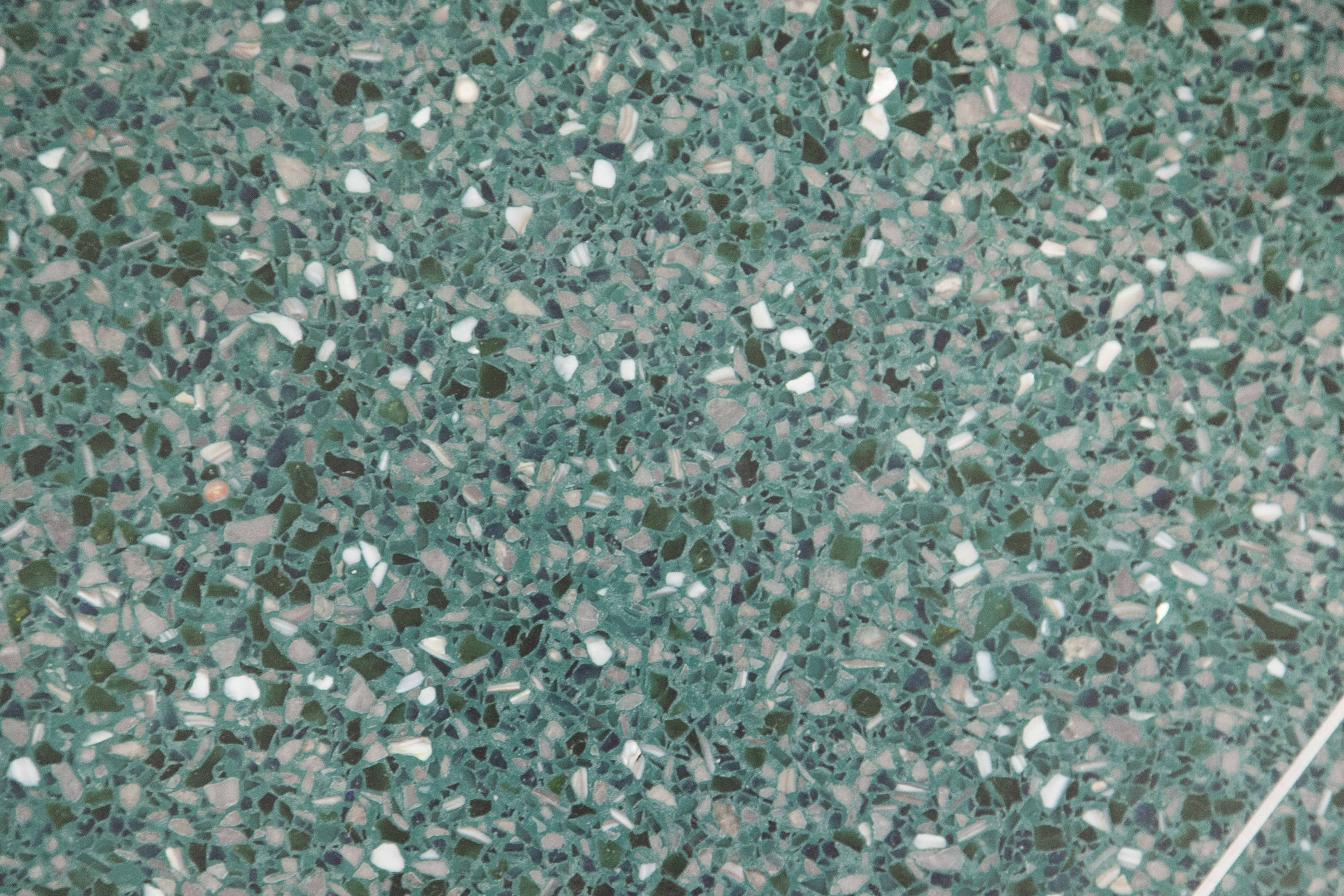 Terrazzo Floors At Ft Myers Beach Library