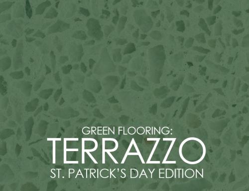 "Terrazzo: ""Green"" Flooring"