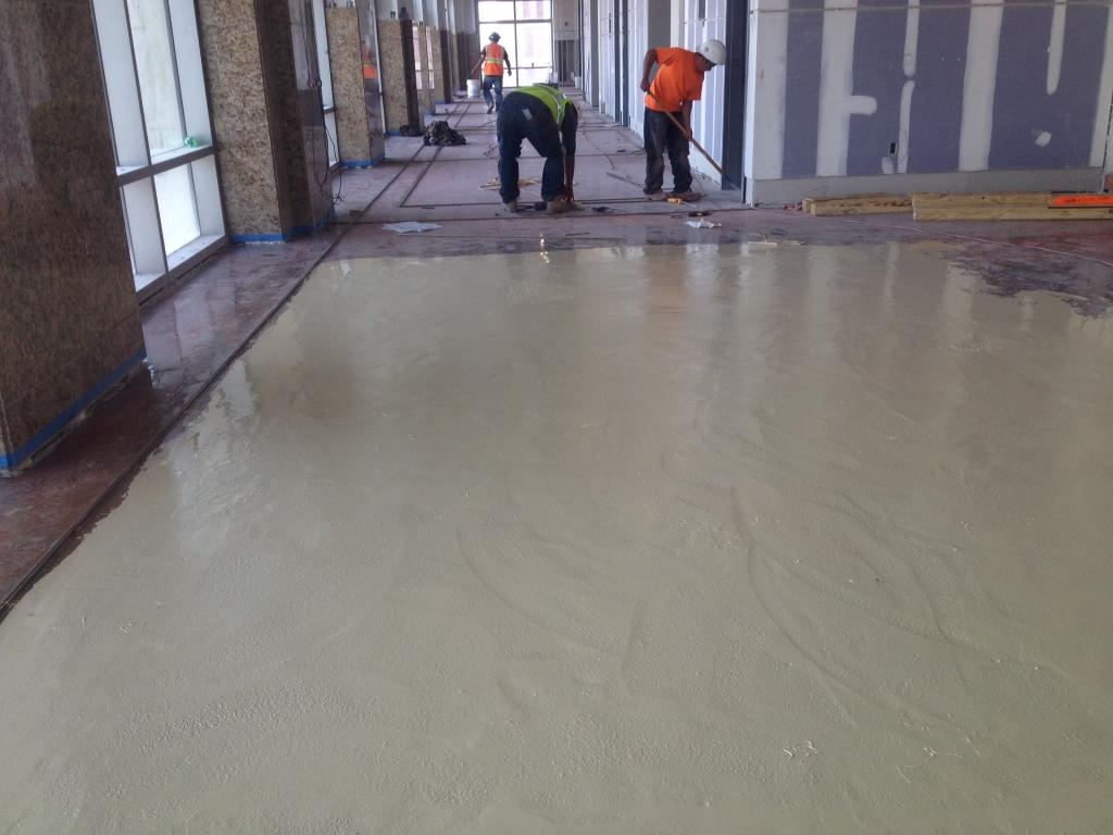 Terrazzo Floor Preparation