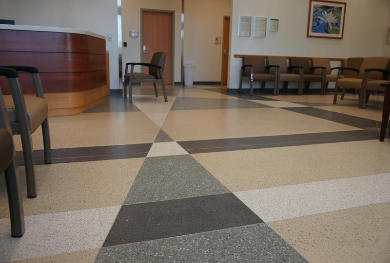 Halifax Health Deltona Terrazzo Flooring