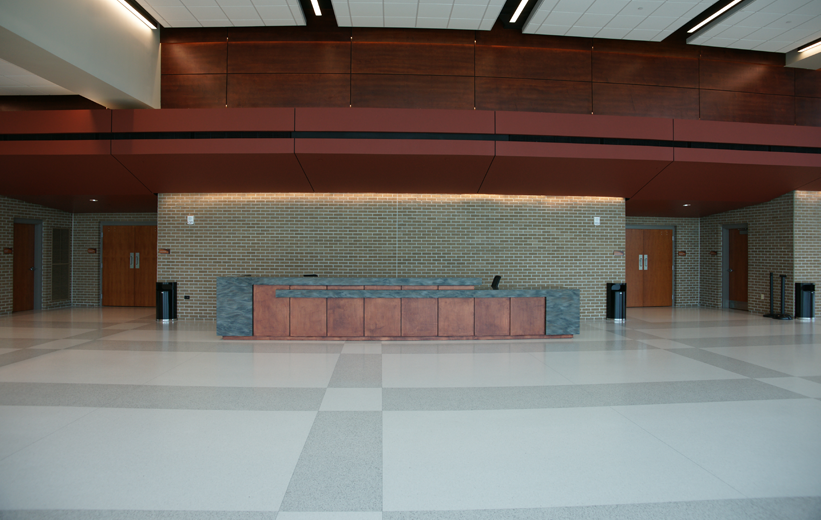 Marion Performing Arts Center adds new terrazzo floors to its main lobby