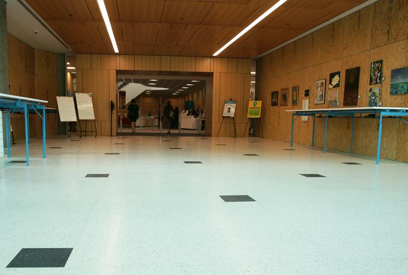 Richland County Main Library Epoxy Terrazzo Installation