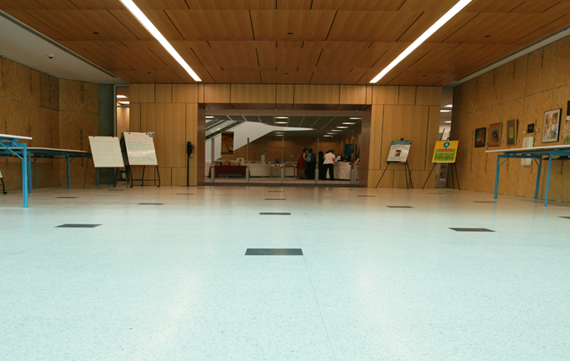 Terrazzo flooring installed at Richland County Main Library