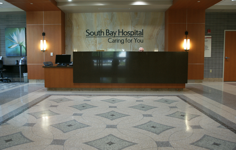 Terrazzo Floor Design at South Bay Hospital